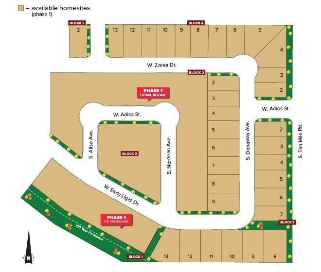 Gran Prado Plat Map