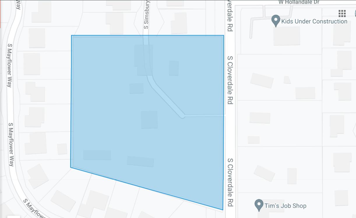 Graywood Estates Plat Map