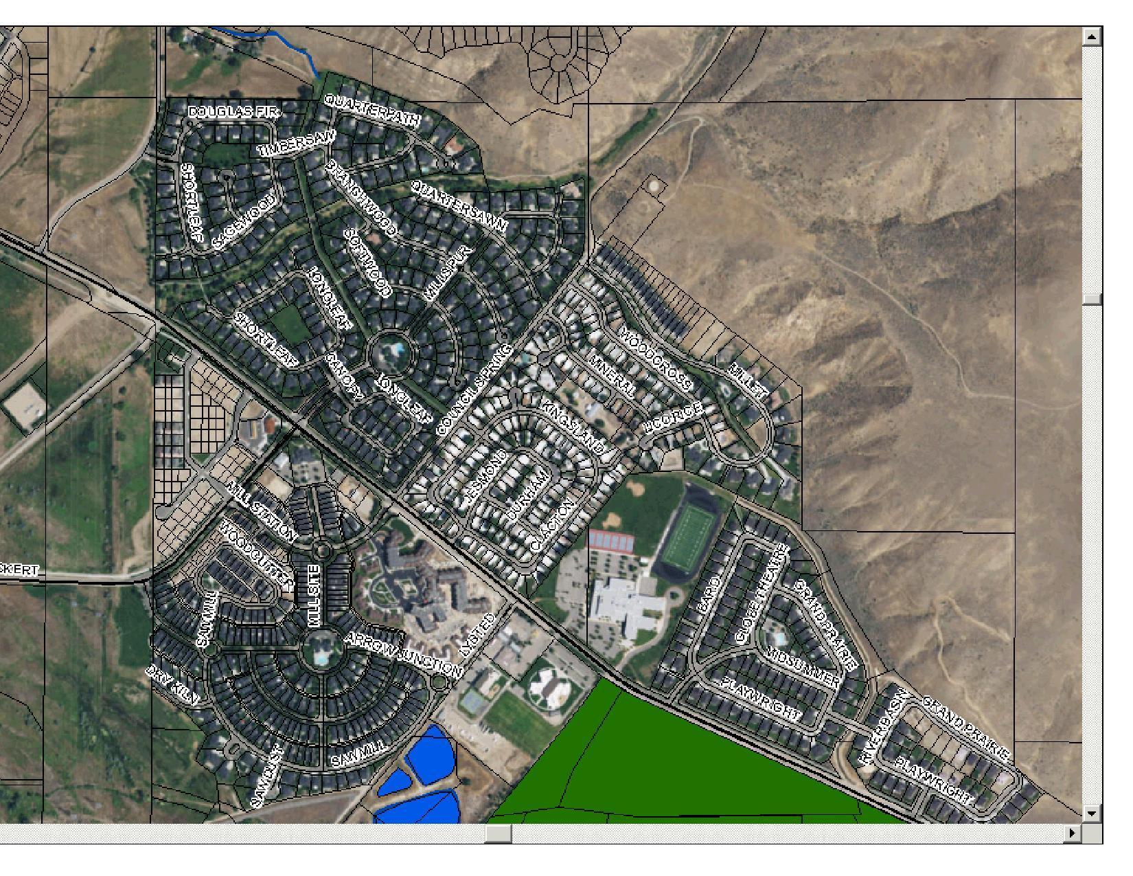 Harris Crossing at Harris Ranch Plat Map