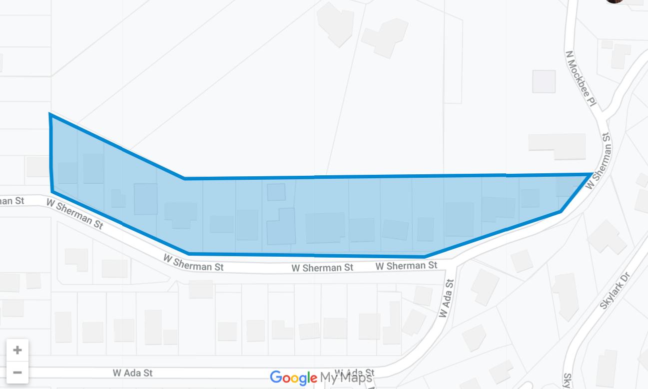 Hillside Plat Map