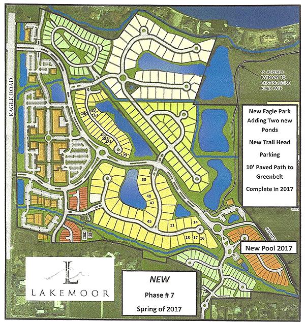Lakemoor Plat Map