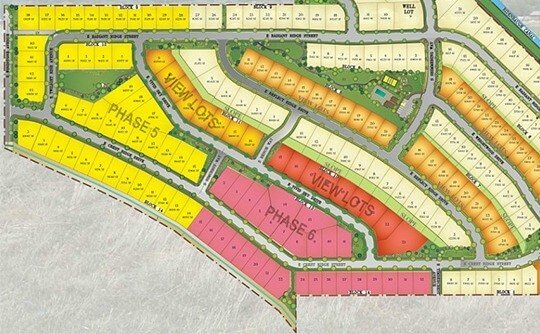 Reflection Ridge Plat Map