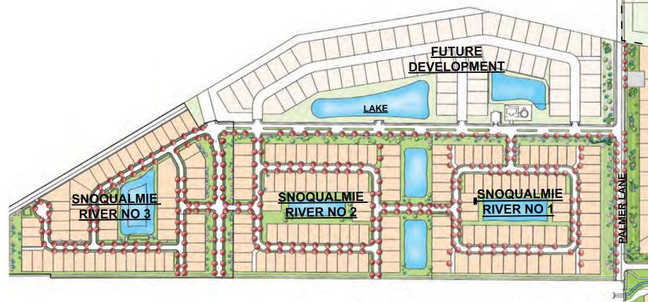 Snoqualmie River Plat Map