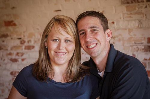 Brad and Stephanie Carroll
