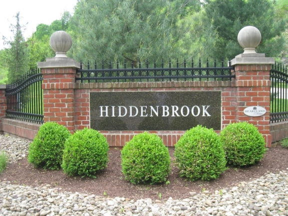 Welcome to Hiddenbrook!  This is a Heartland Homes community.