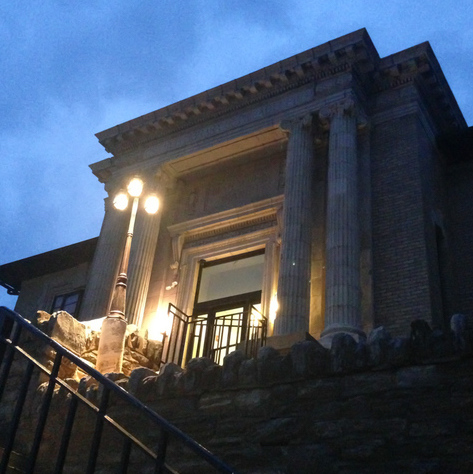 front exterior of the Manayunk Library.