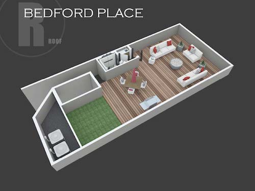 Bedford Place roof layout