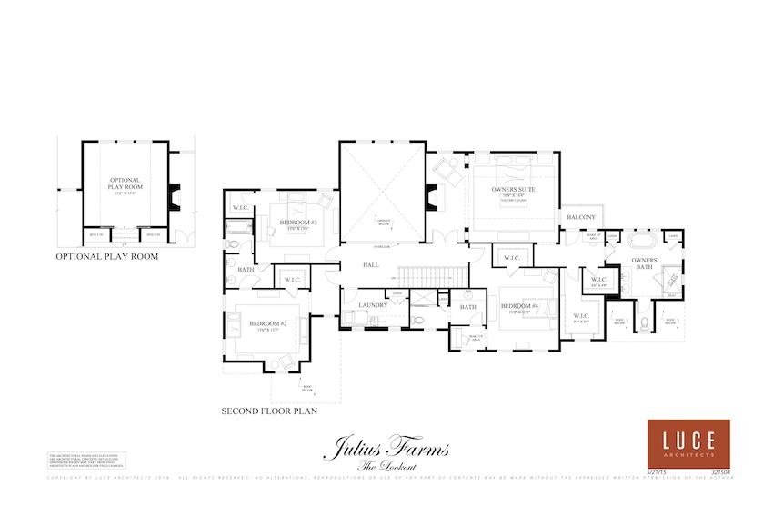 lookout second level base floorplan
