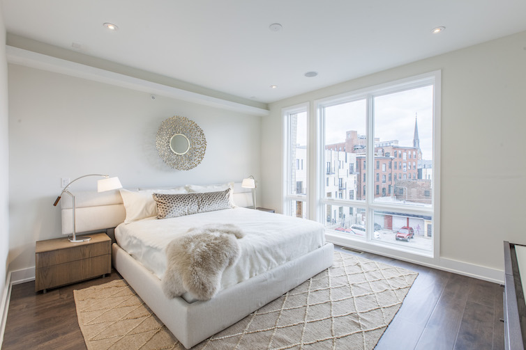 Liberty Square large luxury bedroom