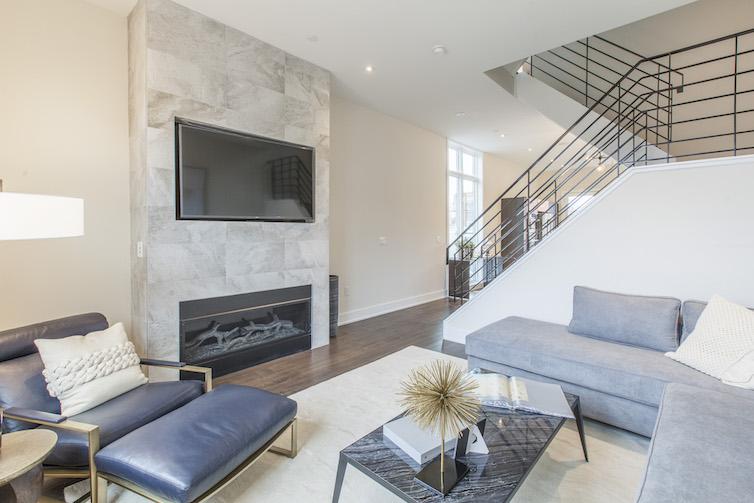Liberty Square modern living room