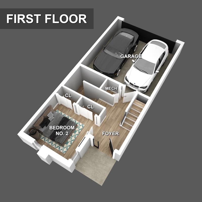 First floor Floorplan of Liberty Square