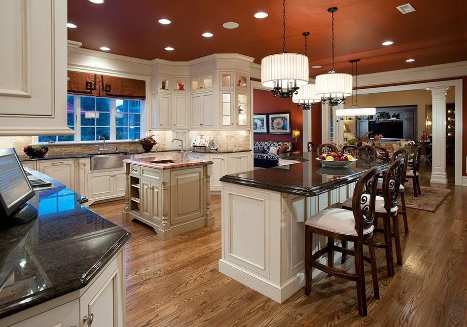 gorgeous kitchen with open floorplan