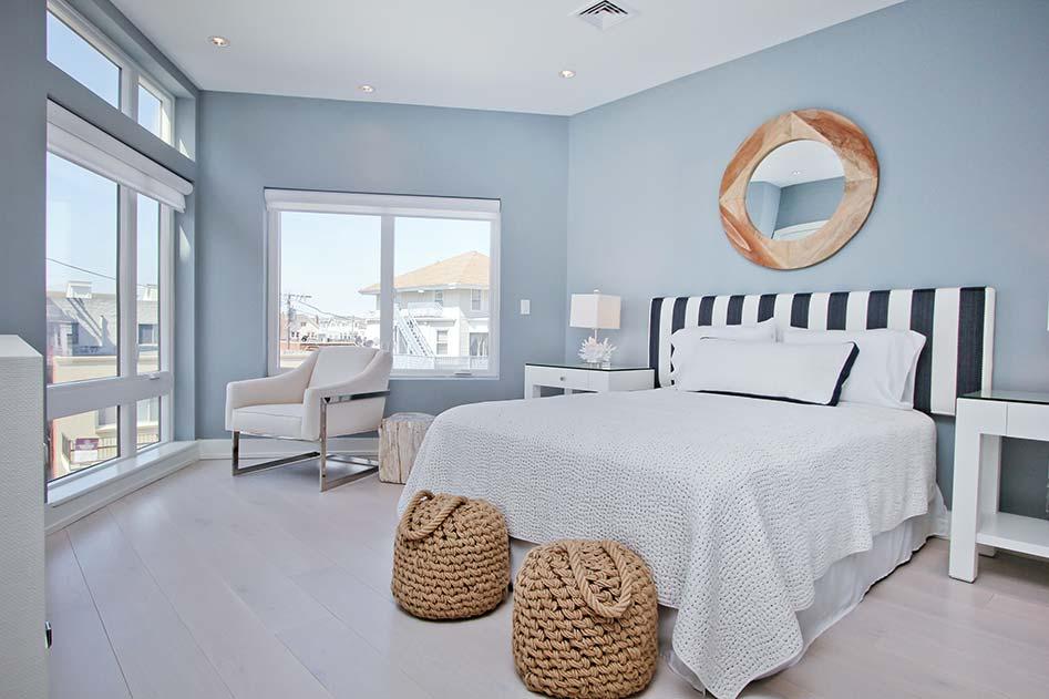 Bedroom of unit