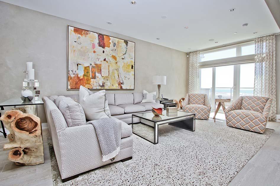 living room of unit