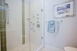 bathroom of unit