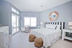 third bedroom of unit