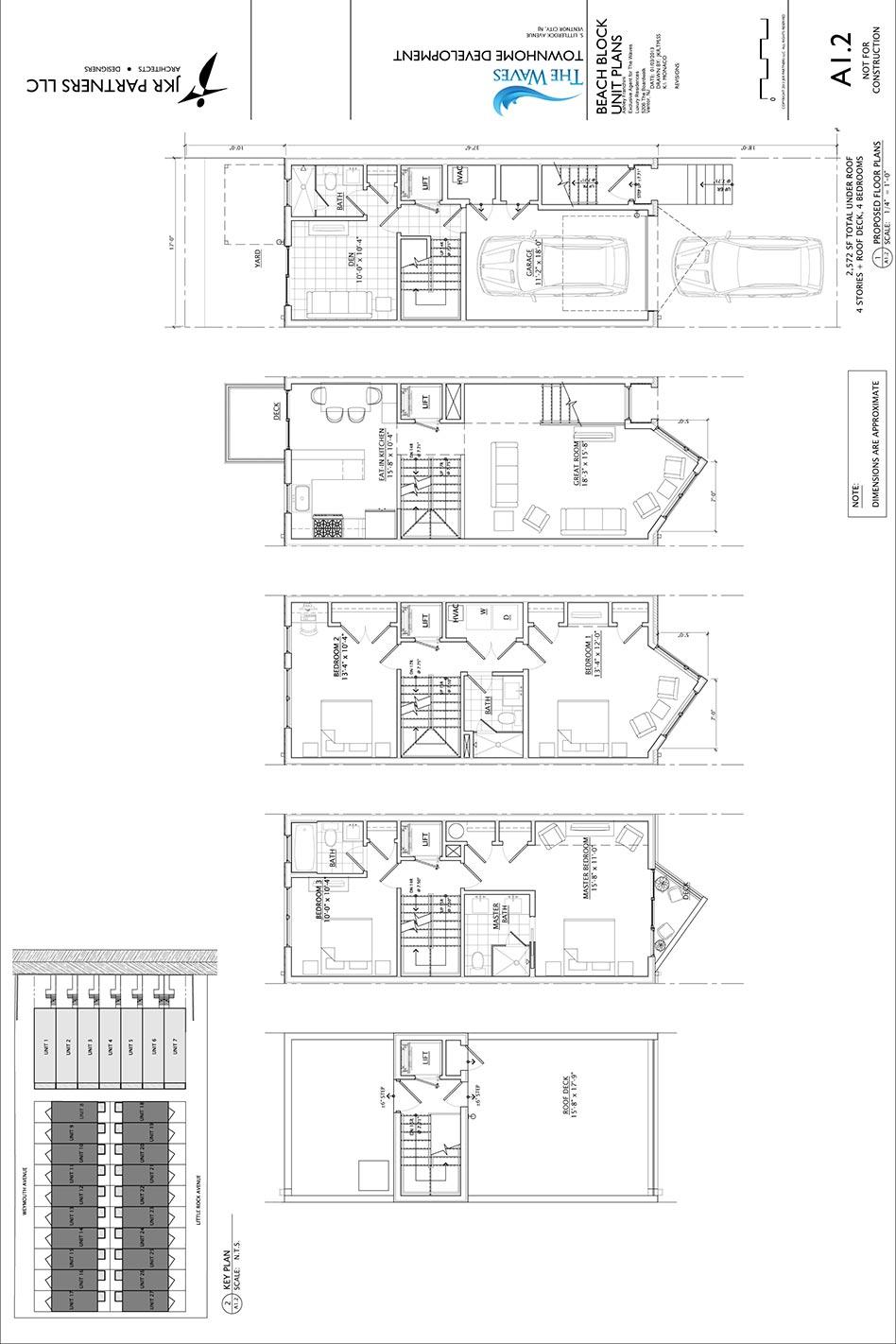 floor plan of levels