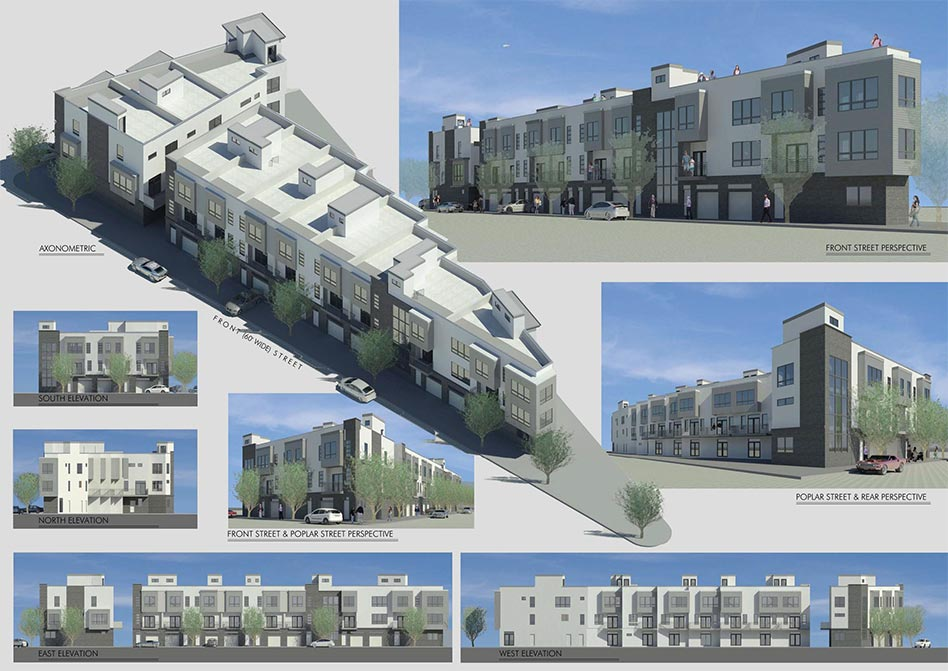 layouts and different angles of apartment building