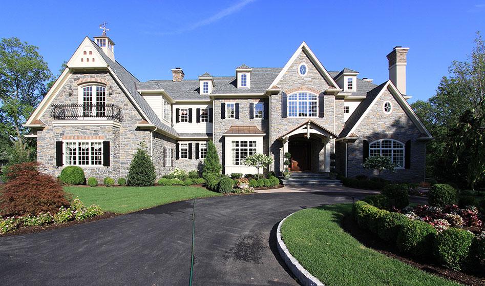 beautiful exterior of estate