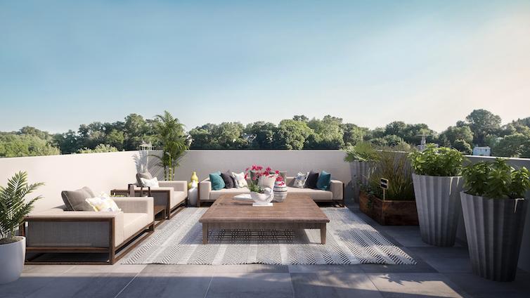 Howard roof deck