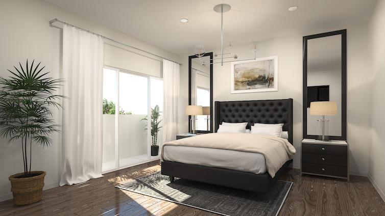 Regent Row luxury bedroom