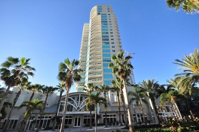 Ovation Luxury Condos Downtown St Petersburg, Florida