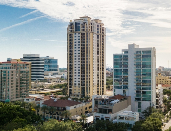 Parkshore Luxury Condos Downtown St Petersburg Florida