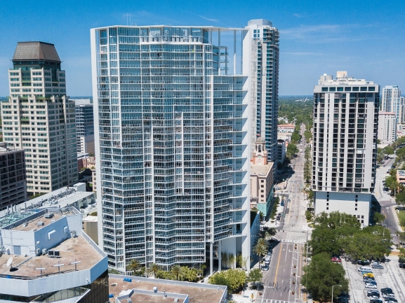 Signature Place Luxury Condos and Lofts Downtown St Petersburg Florida