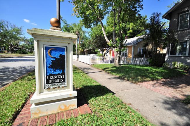 Crescent Heights Neighborhood St Petersburg, Florida