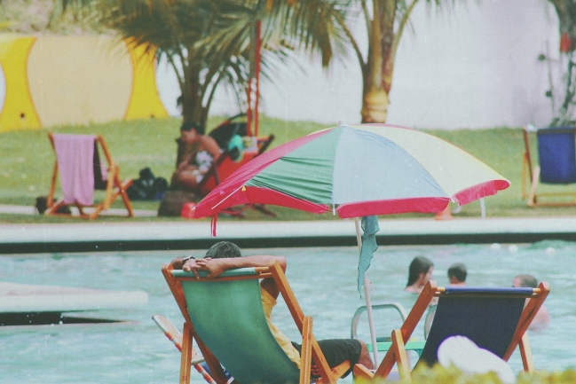 Cool off and unwind at the Nexton Swim Club.