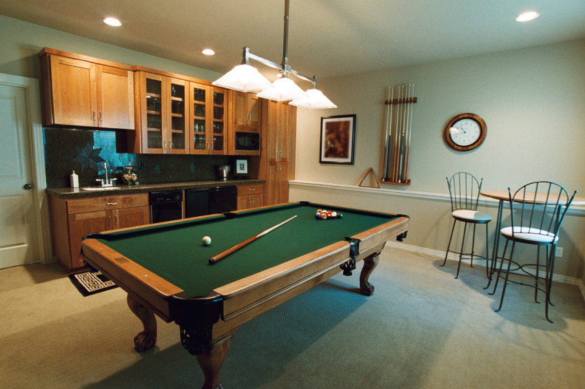 Rec Room in Your Basement