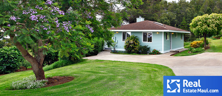 upcountry maui real estate
