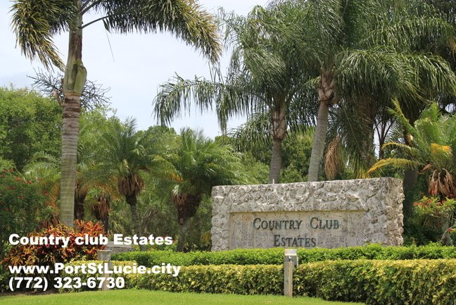 Country Club Estates St. Lucie West