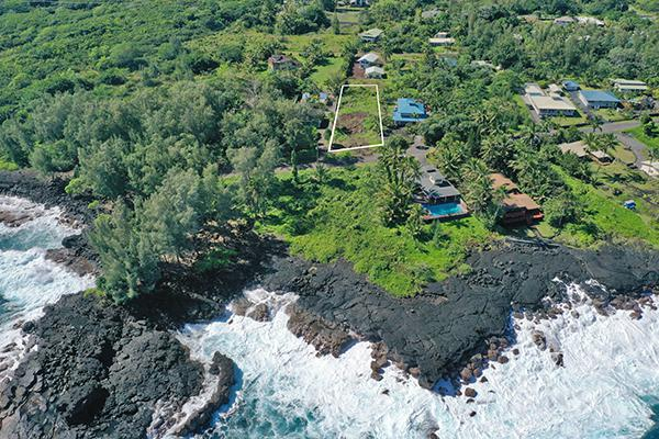 $184,500 Ocean View Lot in Hawaii