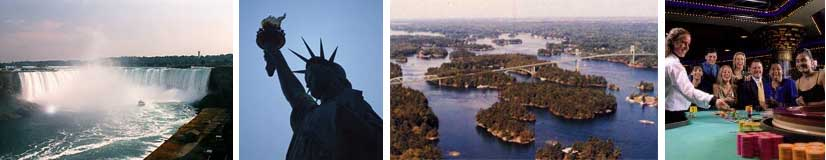 Niagara Falls, New York City, 1,000 Islands & Canada, Turning Stone Resort & Casino