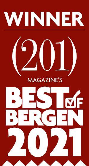 Winner 201 Magazine's Best of Bergen 2021