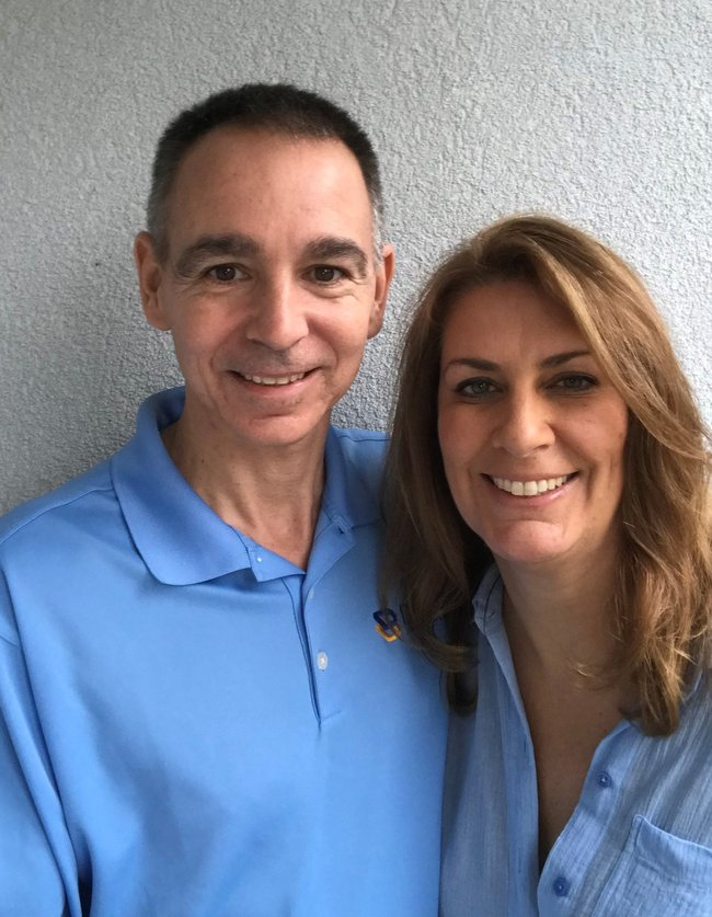 Photo of Mark and Kathryn Divak,