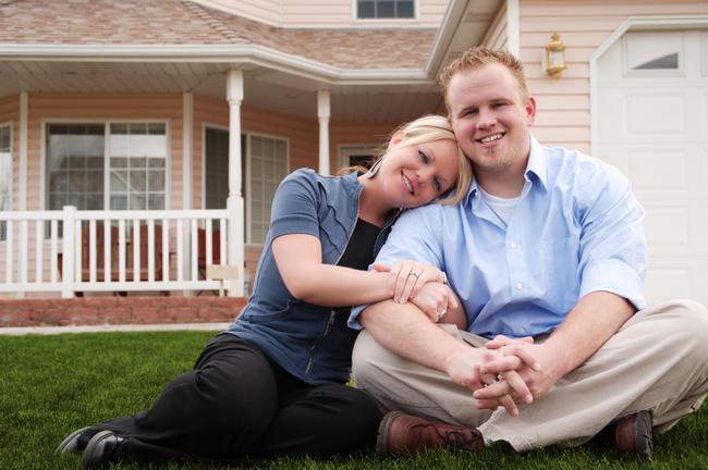 Glen Mar Park Neighborhood Home and Happy Couple