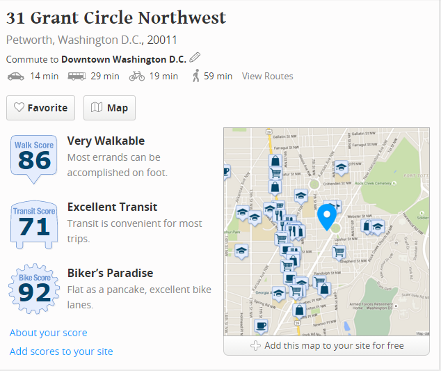 grant circle walkability infographic