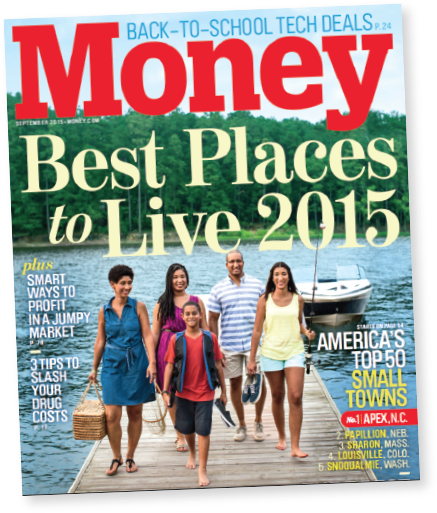 Money Best Places to Live 2015