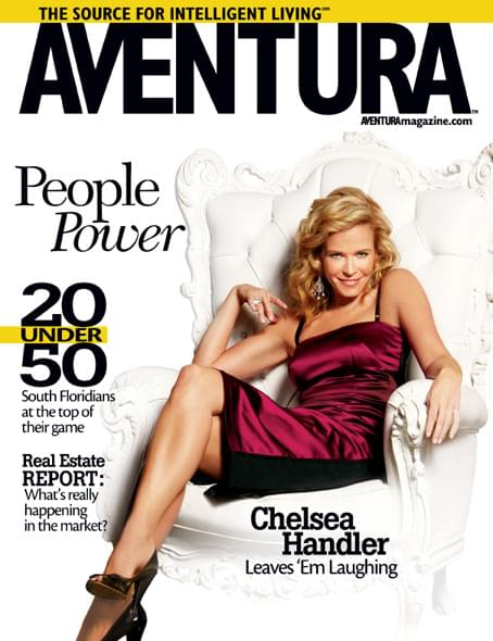 Aventura Magazine Cover