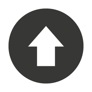 an up arrow inside a circle