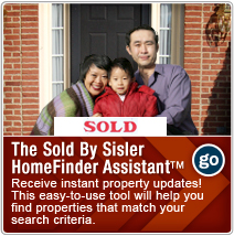 The Sold By Sisler HomeFinder Assistant ™
