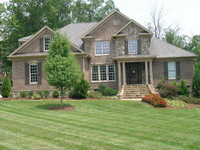 Just one of the many custom homes available summer 2007
