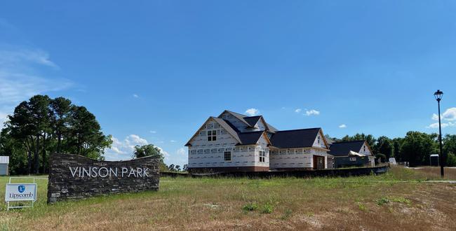 Vinson Park Entrance Off Castleberry Road in Clayton NC