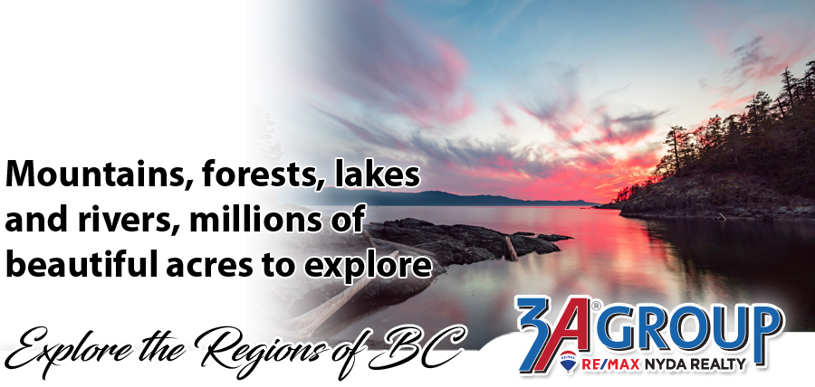 Explore all the regions of Beautiful BC