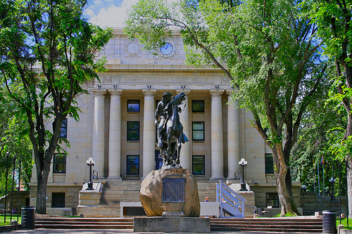 The Prescott Courthouse Square is a popular area.  Homes for sale near downtown are within easy walking distance.