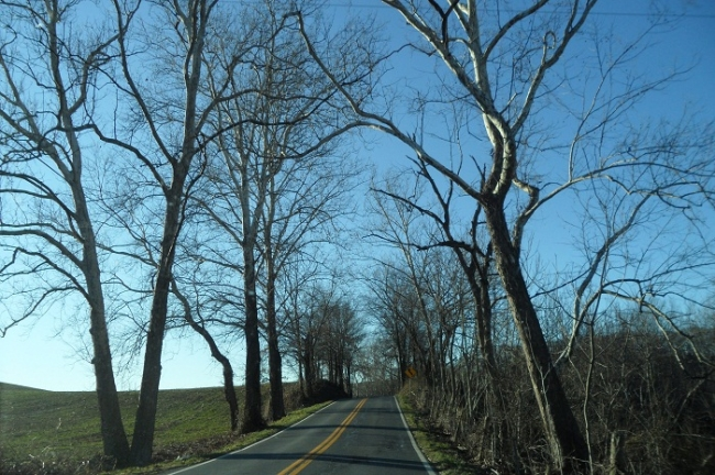 country roads common in Gaithersburg