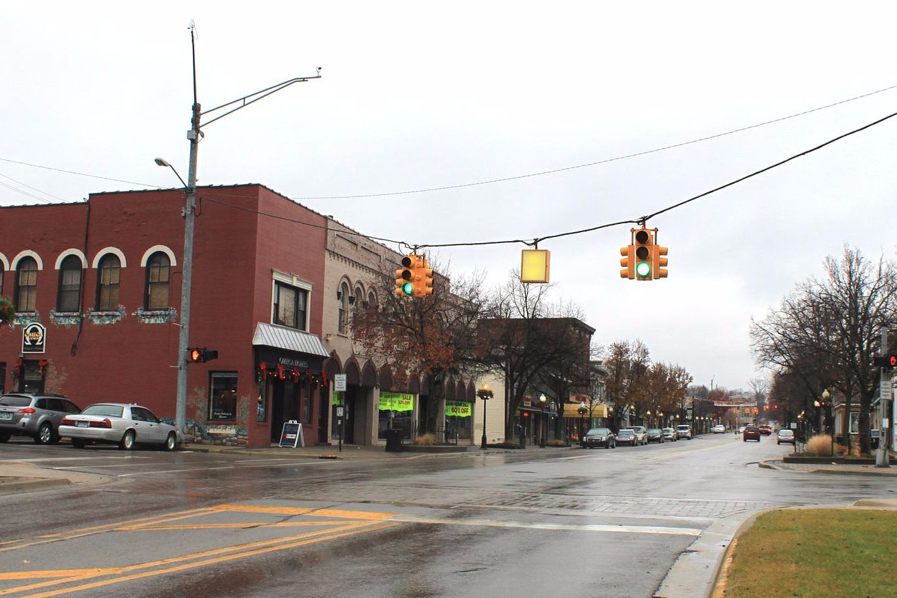milford central business district