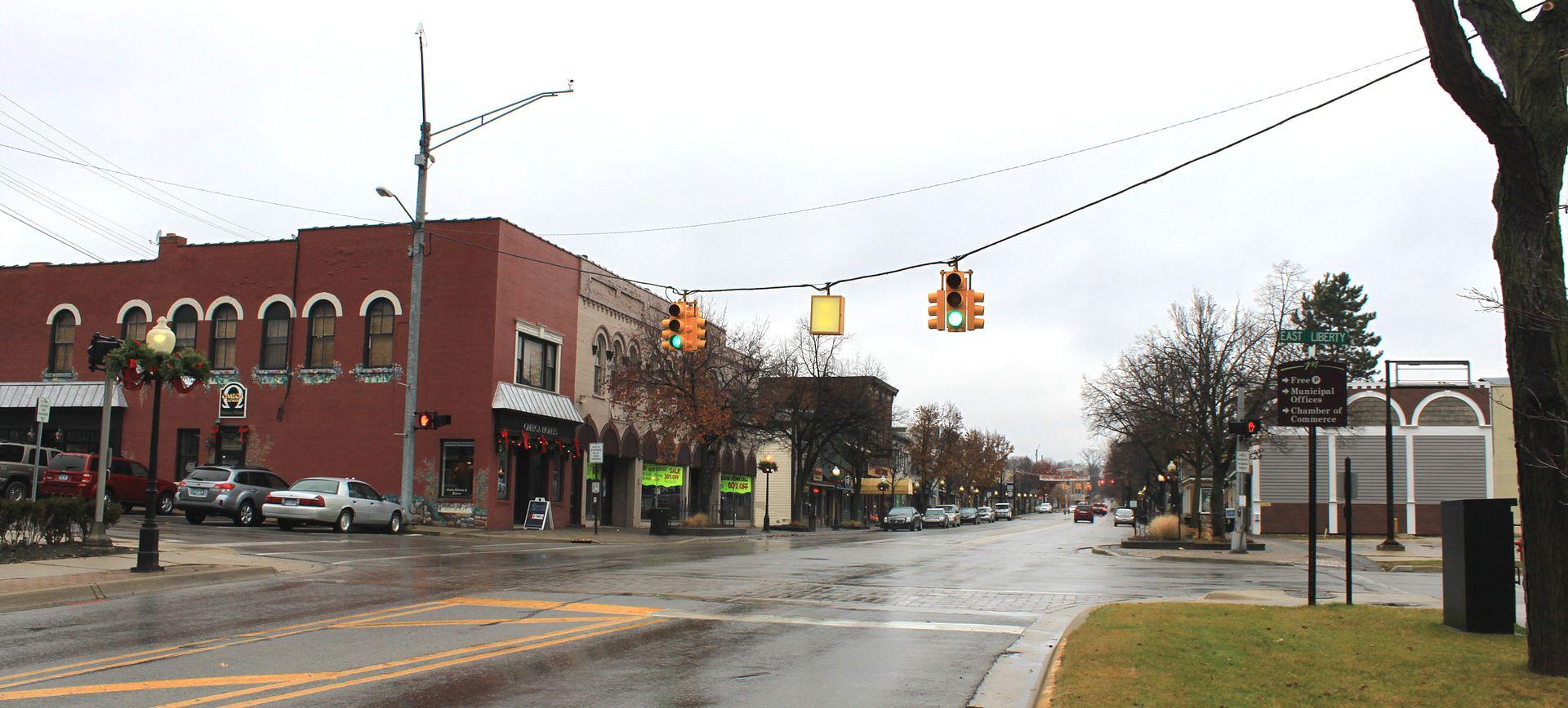 downtown Milford, MI